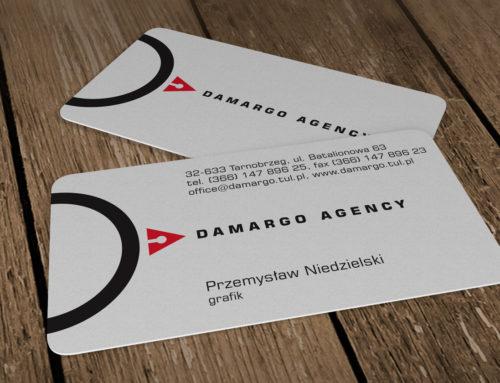 Wizytówki plastikowe Damargo